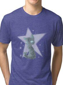 Warrior Cats Omen of The Stars Jayfeather Tri-blend T-Shirt