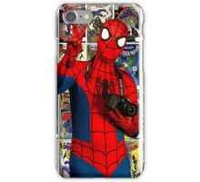 Spider Man Cosplay  iPhone Case/Skin