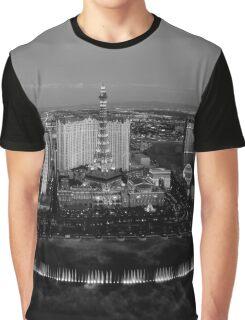 Las Vegas by Night Graphic T-Shirt