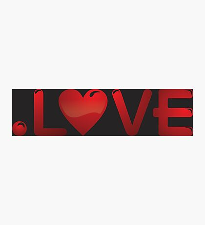 Love Red In Heart Photographic Print