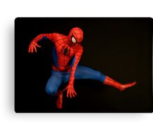 Spider Man Cosplay  Canvas Print
