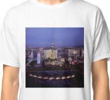 Las Vegas by Night Classic T-Shirt