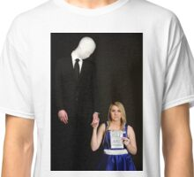 Slender Man and friend cosplay Classic T-Shirt