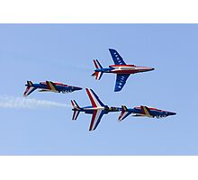 Patrouille de France on Display Photographic Print