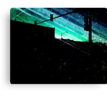 Radioactive Skies Canvas Print