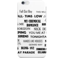 BANDS! iPhone Case/Skin