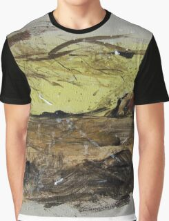 Ayers Rock splatter painting Graphic T-Shirt