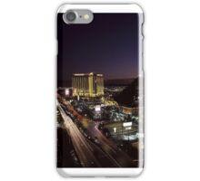 Las Vegas by Night iPhone Case/Skin