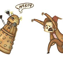 Doctor Who - Chasing a Dalek by AnorakChampion