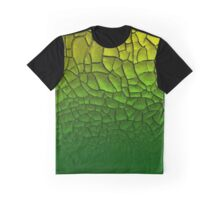 cracked earth green Graphic T-Shirt