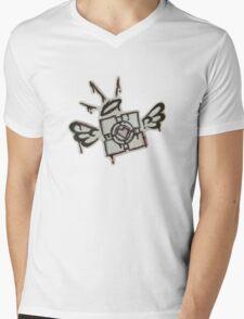 Companion Cube Mens V-Neck T-Shirt