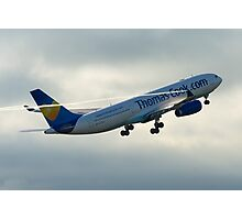 Thomas Cook A330 Photographic Print