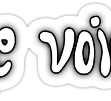 The Voices Sticker