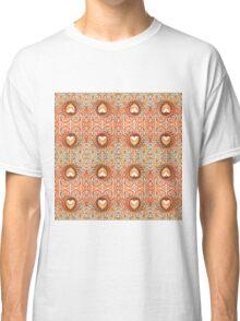 Five Way Bronze Hearts Classic T-Shirt