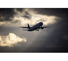 Air France A321 Take-Off Photographic Print