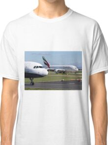 Emirates A380 Taxis Classic T-Shirt