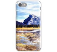 Mt Rundle - Banff, Alberta, Canada iPhone Case/Skin