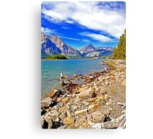 Upper Kananaskis Lake, Alberta, Canada Canvas Print