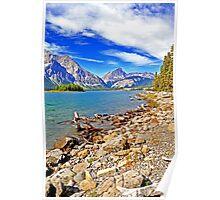 Upper Kananaskis Lake, Alberta, Canada Poster