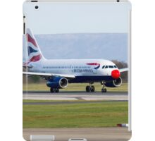 British Airways Red Nose Day iPad Case/Skin