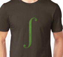 Green Integral Symbol Unisex T-Shirt