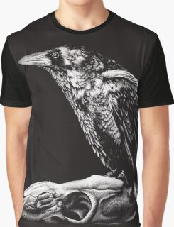 Crow & Deer  Graphic T-Shirt