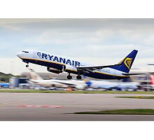 Ryanair 737-800 Take-Off Photographic Print