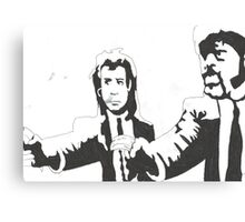 Banksy Pulp Fiction Canvas Print