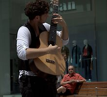 The Guitarist by Ben Loveday