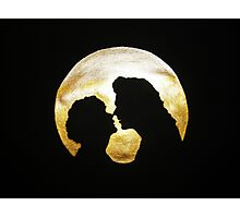 Just Harry, Louis, and the Moon Photographic Print