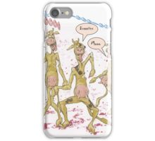 Zombie Cows Crave Brains iPhone Case/Skin