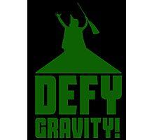 Defying Gravity! Photographic Print