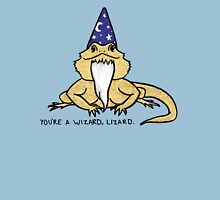 Wizard Lizard Womens Fitted T-Shirt