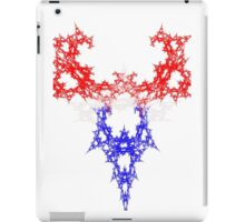 Red White and Blue Power iPad Case/Skin