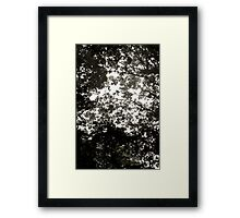 Misted Framed Print