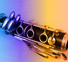 Rainbow Clarinet by BlueMoonRose