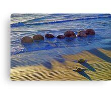 Pythagoras at the Beach Canvas Print
