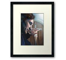 Hank Moody Framed Print