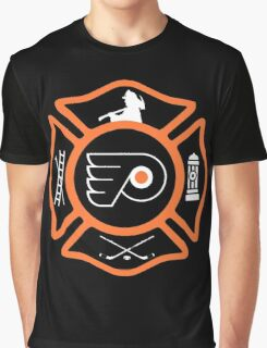 Philadelphia Fire - Flyers style Graphic T-Shirt