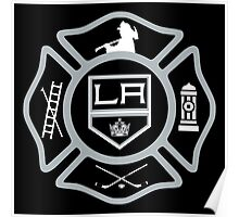 LAFD - Kings style Poster