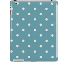 Blue Polka Dots iPad Case/Skin