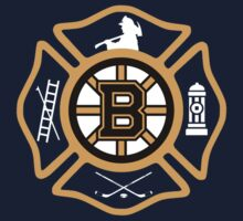 Boston Fire - Bruins style One Piece - Long Sleeve