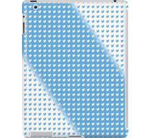 twitter logo pattern BLUE & WHITE iPad Case/Skin