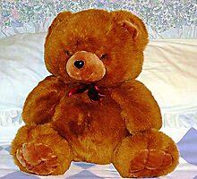Bruno Bear, Big & Beautiful by EdsMum