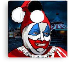 POGO the CLOWN - Serial Killer John Wayne Gacy Canvas Print