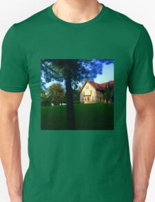 Wisconsin Late Summer Eve Country House  T-Shirt