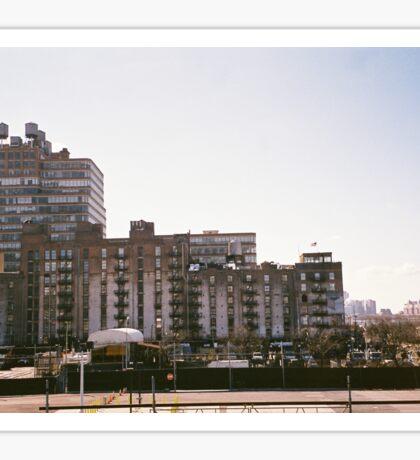 Buildings. NYC Sticker