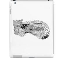 Pattern Cat iPad Case/Skin