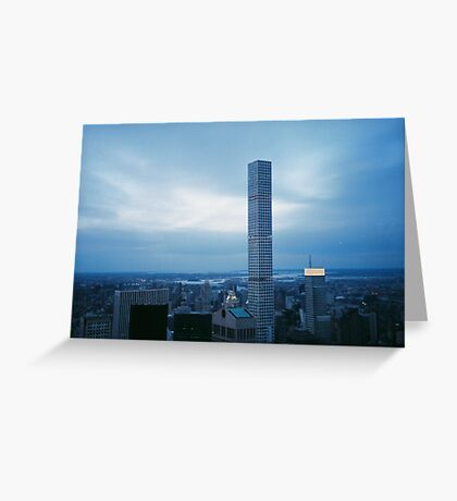 Top of the Rock, NYC Greeting Card
