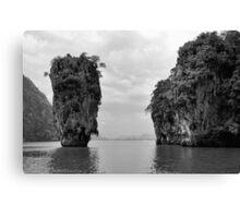 James bond island Canvas Print